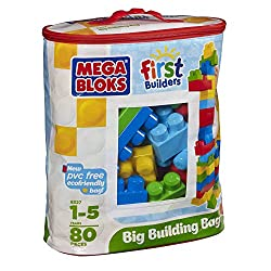 Fisher Price Big Building Bag, Multi Color