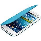 kwmobile� Praktische und schicke FLIP COVER Schutzh�lle f�r Samsung Galaxy S3 i9300 / S3 Neo i9301 in Hellblau