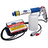 Eastwood Dual Voltage Powder Gun Durable Finish 25 000 V Handheld Switch Fast Cure Large N Tight Area Spray (Color: White)