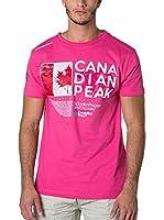 CANADIAN PEAK Camiseta Manga Corta Jiltord (Rosa)