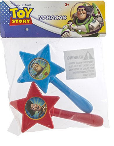 Toy Story Maracas Toy Story - 2pk Maracas in polybag and header - 1
