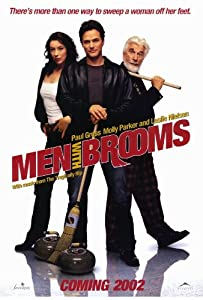Men With Brooms Poster 27x40 Paul Gross Molly Parker Peter Outerbridge
