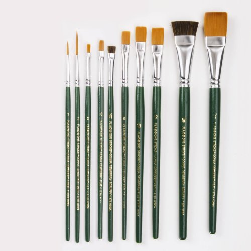 One Stroke Painting INT1059 Folk Art Value Brush