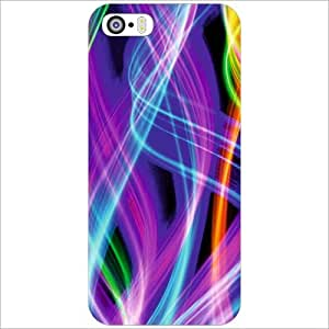Printland Back Cover For Apple iPhone 5S - Transparent Phone Cover (Printed Designer)