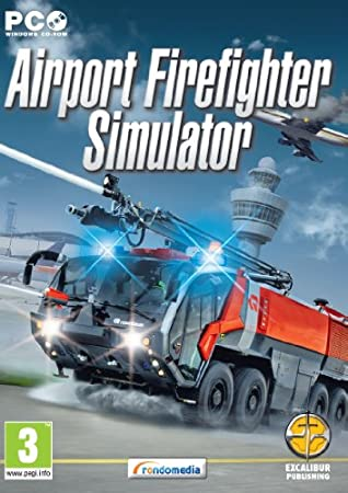 Airport Fire Fighter Simulator (PC CD)