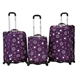 Rockland Luggage Fusion 3 Piece Set