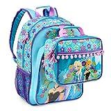 Disney Frozen Backpack & Lunch Bag Elsa & Anna Spring Floral