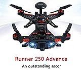 Walkera Runner 250 Advance DEVO 7 フルセット GPS版 RC クアッドコプター RTF 2.4GHz ( 800TVL カメラ&OSD付 ) [並行輸入品]