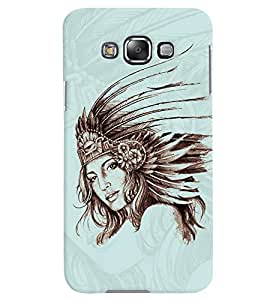 PrintVisa Stylish Cool Girl Queen 3D Hard Polycarbonate Designer Back Case Cover for Samsung Galaxy Grand 3