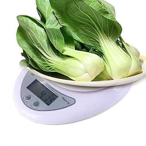 Feichen 5KG LCD électronique numérique Balances de cuisine pour cuisine