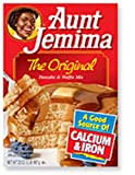 #3: Aunt Jemima Pancake and Waffle Mix 453 g (Pack of 6)