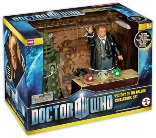 Doctor Who VICTORY OF THE DALEKS Exclusive Action Figure set from Underground Toys