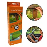 Easy View HD | Flip Down Sun Visor Glare Blocker