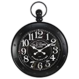 Large Antique Pocket Watch Style Wall Clock