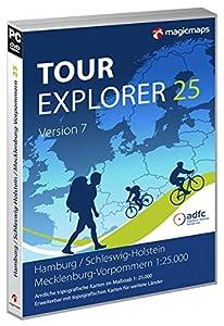TOUR Explorer 25 Hamburg/Schleswig-Holstein/Mecklenburg-Vorpommern, Version 7.0