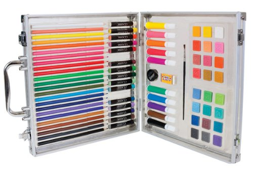 78 Piece Complete Art Studio Set for Kids