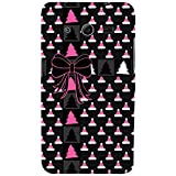 For Samsung Galaxy Core 2 G355H :: Samsung Galaxy Core II :: Samsung Galaxy Core 2 Dual Hat Pattern ( Hat Pattern, Many Hat, Ribbon, Black Background, Tree ) Printed Designer Back Case Cover By FashionCops