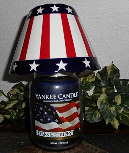 Yankee Candle STARS & STRIPES 22 oz Large Jar Candle with Am
