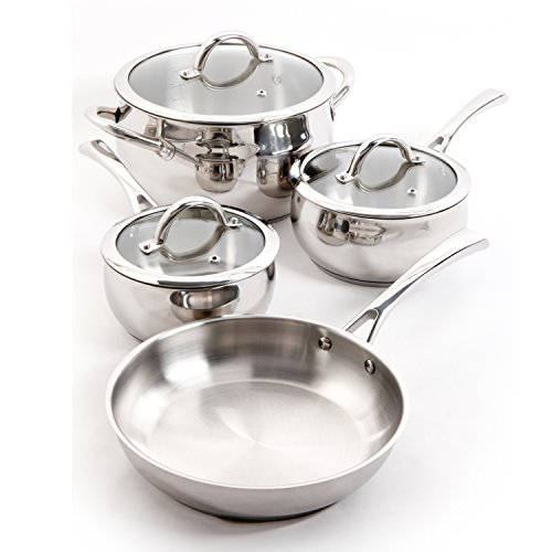 Oster Derrick 7 Piece Stainless Steel Cookware Set (Oster Derrick compare prices)