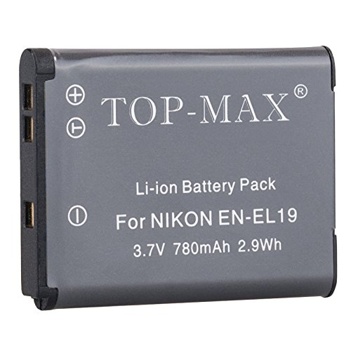 top-maxr-fully-decoded-en-el19-battery-for-nikon-coolpix-s7000-s6900-s6800-s6700-s6600-s6500-s6400-s