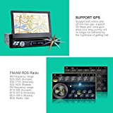 7-1-DIN-Android-51-Autoradio-RNS-NAVISKAUTO-Auto-Navi-GPS-CDDVD-Player-Quad-Core-Digital-Touchscreen-Universal-Navigation-Radio-AMFM-USB-Anschluss-Micro-SD-Slot-Bluetooth-Built-In-WIFI-Lenkradsteuerun