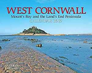 West Cornwall (Mount's Bay & The Land's End Peninsula) Small Wall Calendar 2015
