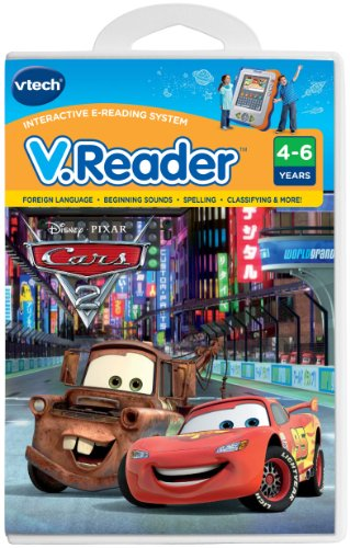 Imagen de VTech - V.Reader Software - Disney Cars - Cars 2