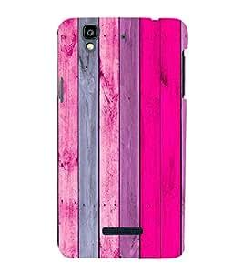 Wooden Colourful Pattern 3D Hard Polycarbonate Designer Back Case Cover for YU Yureka :: YU Yureka AO5510