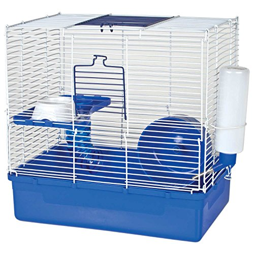 WARE Home Sweet Home Blue 2 Story Hamster Cage 51uqql6UsNL