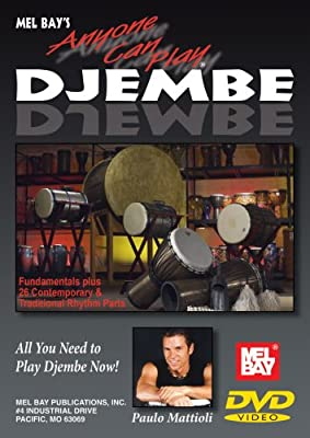 Mel Bay presents Anyone Can Play Djembe