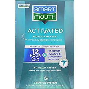 SmartMouth ACF Mouthwash Mint - , 16 Ounce