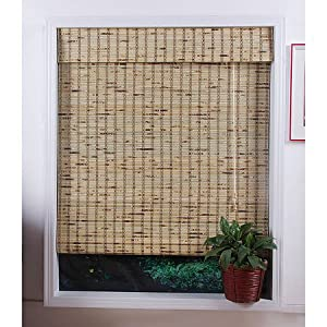 Craft Ideas  Matchsticks on Amazon Com  Petite Tropical Rustic 54in Long Bamboo Shade  Home