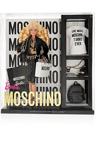 Moschino Barbie Blonde Version NRFB limited edition