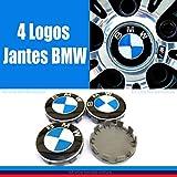Occasion, 4 centre de roue BMW logo jante insigne embleme