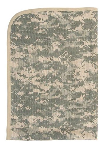 Baby Camouflage Digital Camo Infant Receiving Blanket