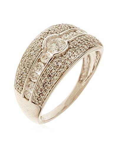 DIAMANTINI Anillo Allée Royale oro blanco 18 ct