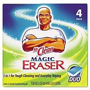 Mr. Clean Magic Eraser Duo Pad - Pack of 4