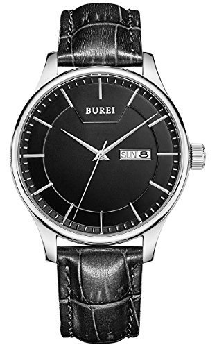 burei-herren-armbanduhr-schwarz-mit-lederarmband-schwarz