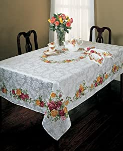 Amazon Com Royal Albert Quot Old Country Roses Quot Tablecloth