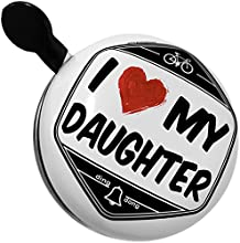 Bicycle Bell I Love my Daughter by NEONBLOND