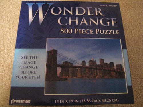 Wonder Change 500-Piece Puzzle - New York Skyline