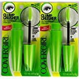 CoverGirl Clump Crusher by Lashblast, 800 Very Black .44 Ounce, 2 Pack