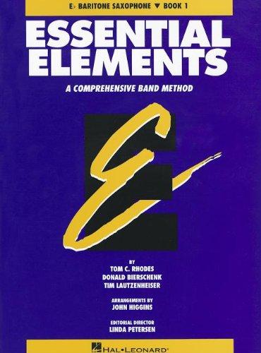 Essential Elements: A Comprehensive Band Method - Eb Baritone Saxophone