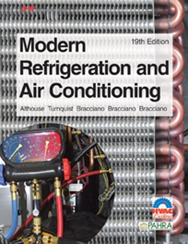 modern refrigeration and air conditioning by andrew d althouse