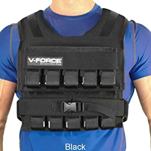 75 Lb. V-Force Short Weight Vest - Made in USA by VForce