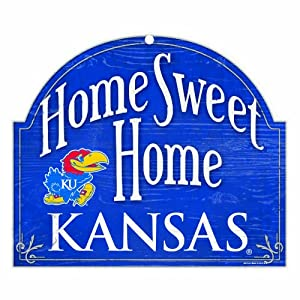 Buy NCAA Kansas Jayhawks 10-by-11 Arch Wood Sign by WinCraft