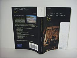 Sylvan barnets a short guide to writing about art