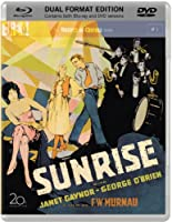 Sunrise Blu-ray + DVD (1927) 3-Disc <Special Dual Format > & 20-Page Booklet > F.W. Murnau