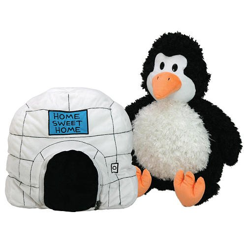 Happy Napper / Play Pillow, Penguin to Igloo
