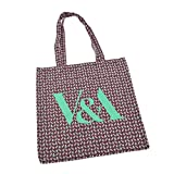 V&A Indian Flower Tote Bag - Green||EVAEX